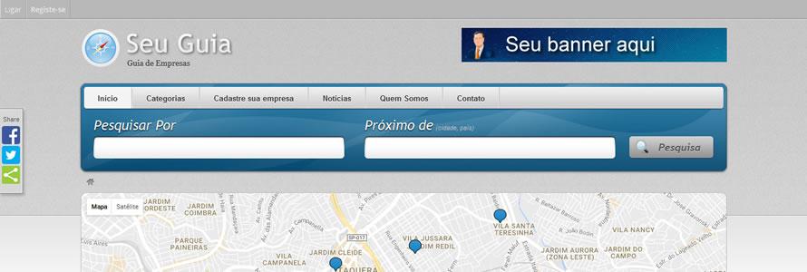 Guia Comercial com Pagseguro e Paypal
