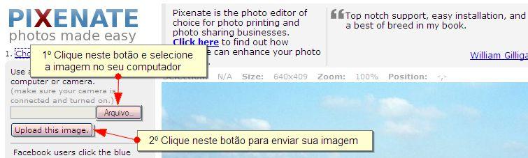 Redimensionar Imagem - Segundo Passo