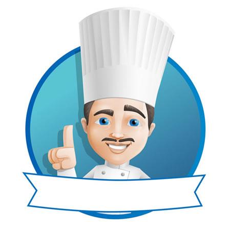 Mascote Restaurante Chefe