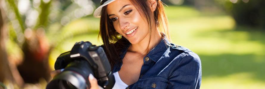 Criar site de fotógrafo
